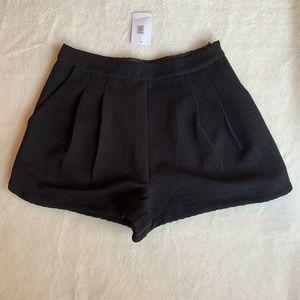 Lush Black Shorts Size M(28)